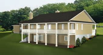 Ranch Style House Plans With Walkout Basement Walkout Basements Plans By Edesignsplans Ca 2