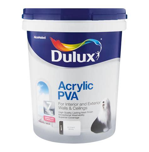 acrylic paint za dulux 20l acrylic pva brilliant white lowest prices