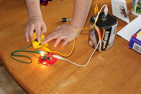 light experiments for kids pretty light wire battery experiment ideas