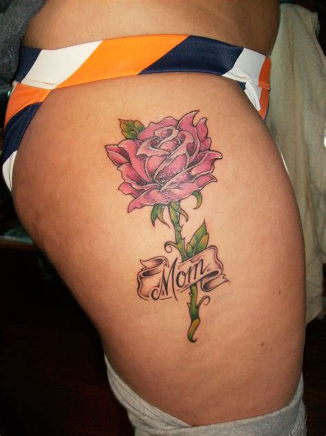 rose rip tattoos in loving memory tattoos pin my rip