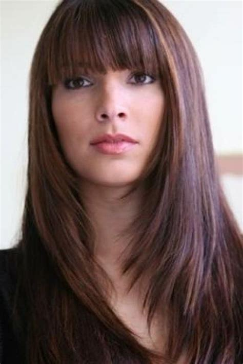 long bob with fringe long bob haircut with fringe tucamedia com hair
