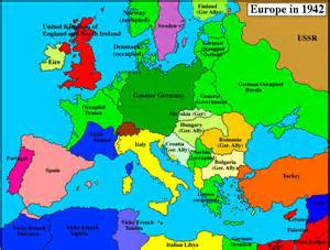 map of europe germany 1942label maps
