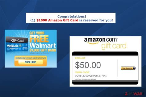 Amazon Gift Card Virus - remove 1000 amazon gift card is reserved for you support scam removal guide