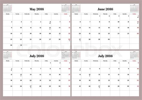 Calendar 2015 May June July Search Results For Free July And August Calendar
