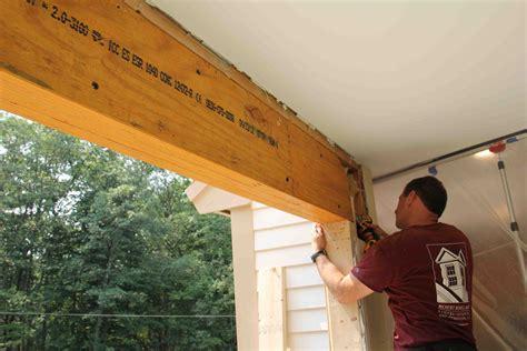 Removing Bearing Walls
