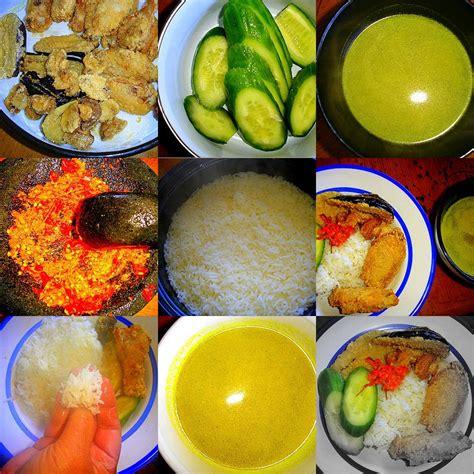 resep masakan indoaus jamur terong ayam goreng plus sambal
