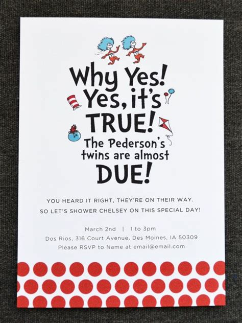 thing 1 and thing 2 baby shower invitations thing 1 thing 2 baby shower invitation by tulaandtwig on