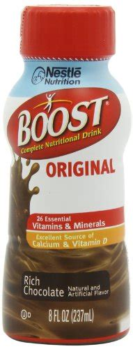 Sale Soloco Original Chocolate B Complex Vitamin boost original chocolate ready to drink 8 oz pack of 12