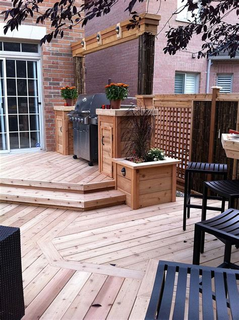 Backyard Bbq Decks 17 Best Ideas About Outdoor Barbeque Area On