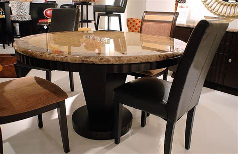Stone Dining Room Table by Granite Dining Room Tables Round Stone Top Dining Table