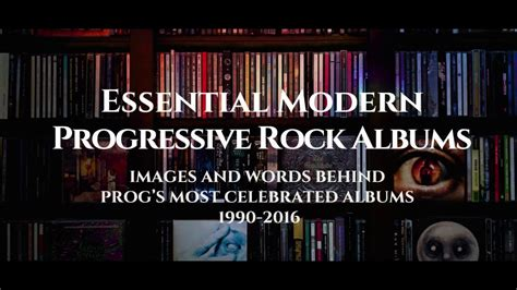 essential modern progressive rock albums images and words progã s most celebrated albums 1990 2016 books essential modern progressive rock albums book promo