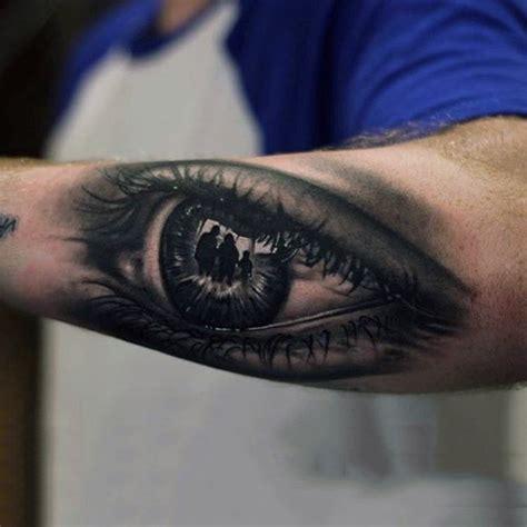 eye tattoo forearm top 100 eye tattoo designs for men a complex look closer