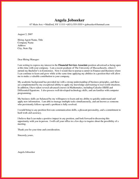 Cover Letter Business Template by Business Cover Letter Format Sop Exles