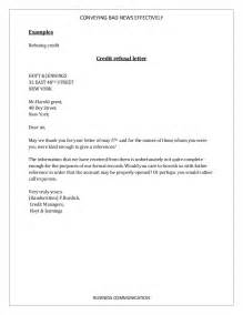 Business Writing Bad News Letter Example how to convey bad news