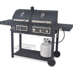 backyard classic professional hybrid grill outdoor gourmet pro triton classic gas charcoal grill and