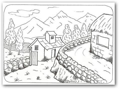 imagenes de paisajes para dibujar y pintar dibujos para colorear paisajes fotos o im 225 genes