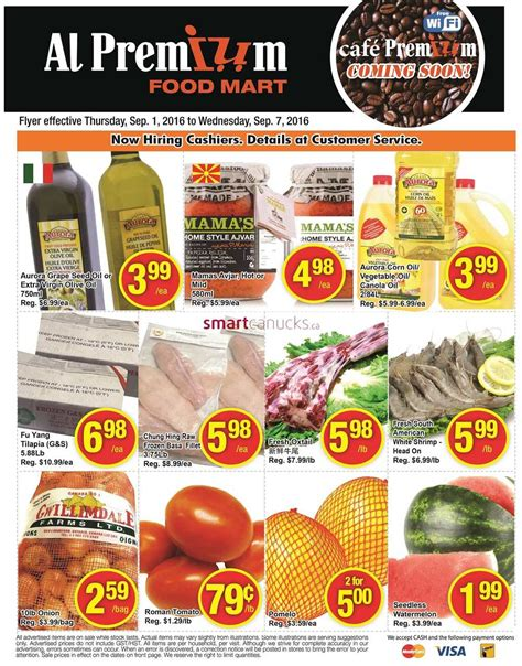 premium food al premium food mart flyer september 1 to 7