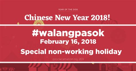 new year non working walangpasok special non working friday feb 16