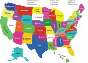 united states map with all the states 50 states thinglink
