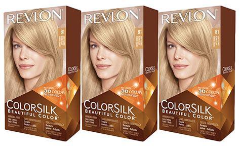 revlon colorsilk beautiful color no 81 light blonde 1 application hair 3 revlon colorsilk permanent beautiful hair color 81 light