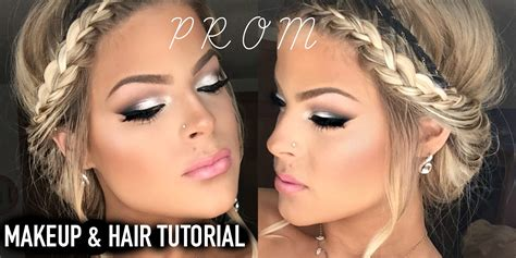 tutorial makeup natural pac prom makeup and hair tutorial easy and pretty valerie