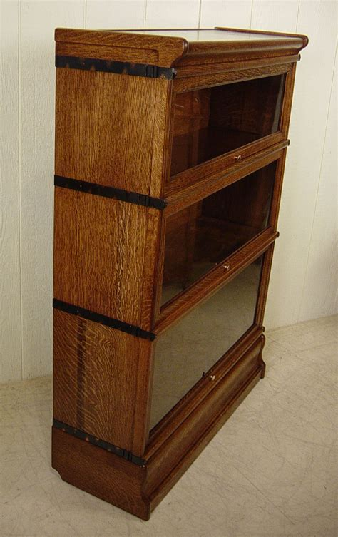 Macey Bookcase Macey 3 Section Stacking Oak Bookcase