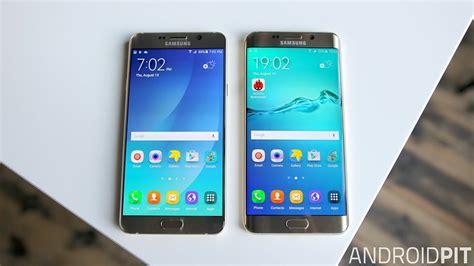 Samsung Galaxy S6 Vs Note 5 Samsung Galaxy S6 Edge Plus Vs Galaxy Note 5 Zwillinge
