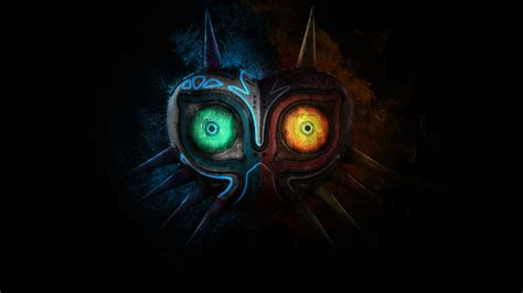 blue zelda wallpaper the legend of zelda majora s mask full hd wallpaper and