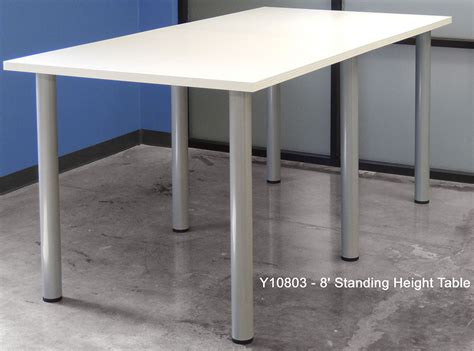 Standing Meeting Table Standing Height Conference Tables 8 Length