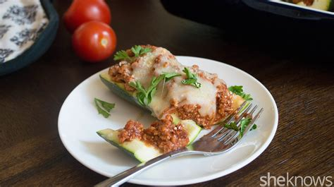chicken parm stuffed zucchini boats chicken parmesan zucchini boats easier than the original