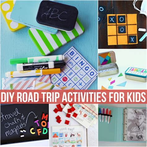 diy projects for kids diy road trip activities for kids