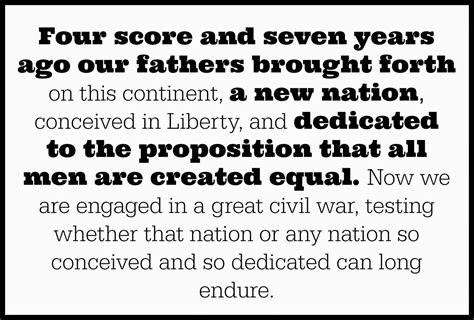 abraham lincoln speech four scores www imgkid the