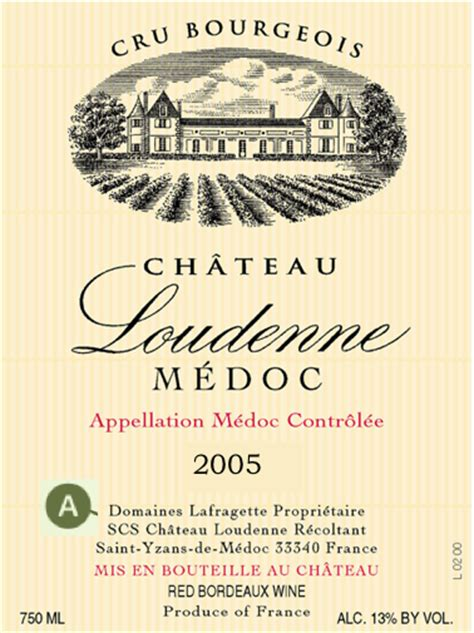 How To Read A Bordeaux Wine Label Wine Label Template Word