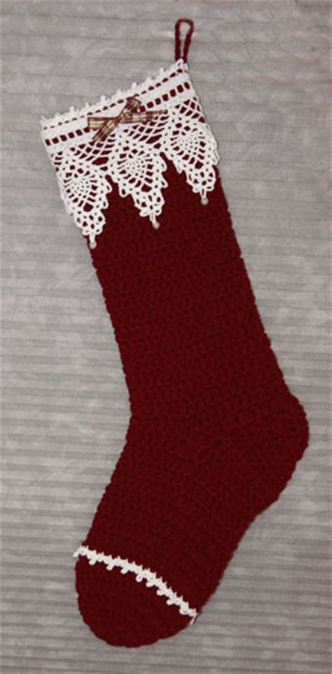 free pattern for victorian christmas stocking knit and crochet christmas stocking patterns wee folk art