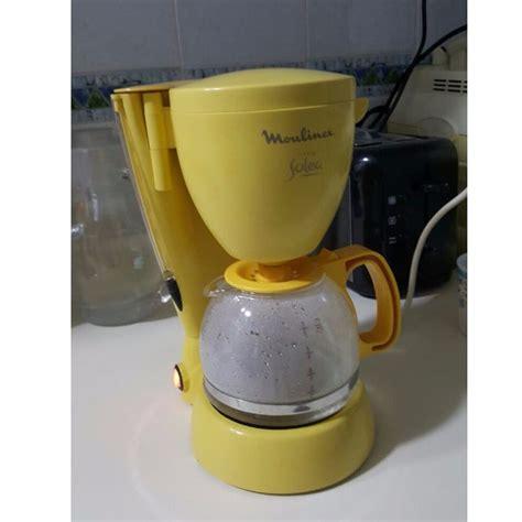 coffee machine yellow smart coffee machine