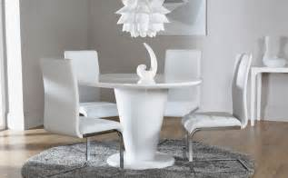 Dining Table And Chairs White White High Gloss Dining Table And 4 Chairs Set Perth White Only 163 599 99