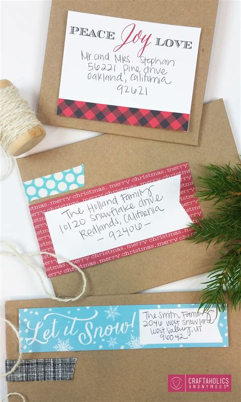 easy to mail christmas gifts craftaholics anonymous 174 mailing labels