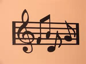 Music Wall Decor by Musical Notes Wall Decor Pictures To Pin On Pinterest