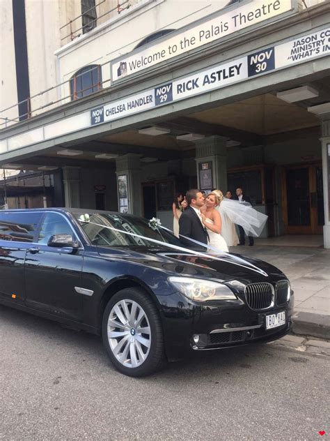 limo bmw 7 series stretch limo wedding cars