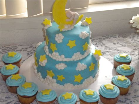 Moon And Baby Shower by Moons And Baby Shower Cake Baby