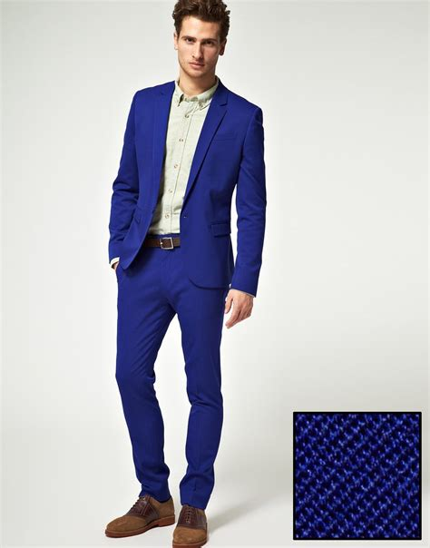Navy Blue Dining Room by Navy Blue Skinny Fit Suit Jacket In Polywool Online