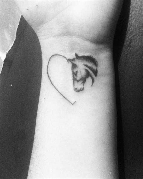 simple horse tattoo best 25 tattoos ideas on