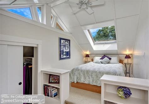 how to cool upstairs bedrooms an uncommon cottage upstairs bedroom cute little homes