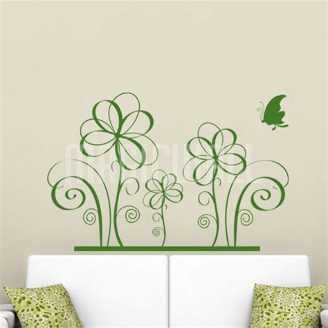 flower stickers for wall wall decals canada wall stickers floral flowers