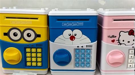 Brankas Doraemon Celengan Doraemon celengan brankas karakter atm generasi kedua hello