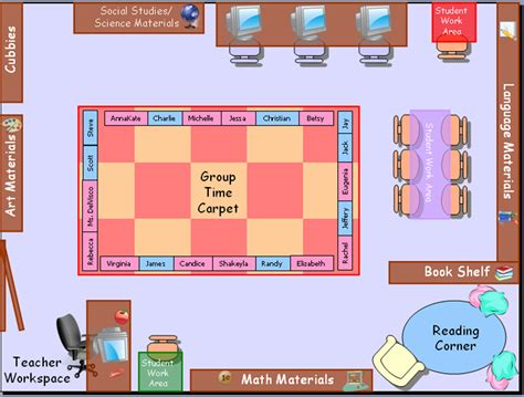 classroom layout chart classroom seating chart template seating chart