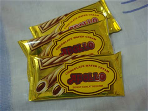 apollo wafer per 4 pack of a commoner apollo wafer biscuit