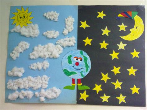 kindergarten pattern projects day and night craft idea for kids 1 crafts and