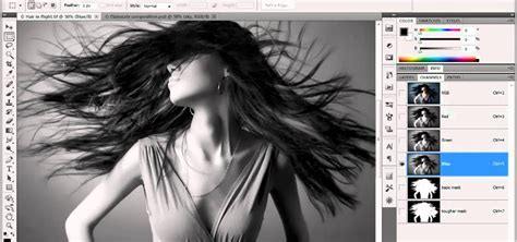 photoshop cs5 masking tutorial video how to create an alpha channel in adobe photoshop cs5