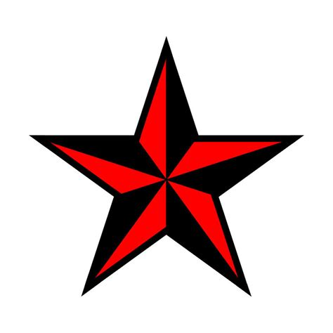 red and black stars tattoo black and nautical by bladeftw89 on deviantart